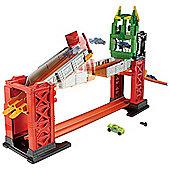 Hot Wheels Track Builder Troll Bridge Playset