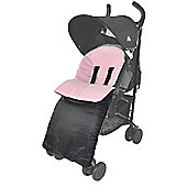 Footmuff To Fit Petite Star Liner Buggy Pram Zia/Kurvi/Zukoo Light Pink