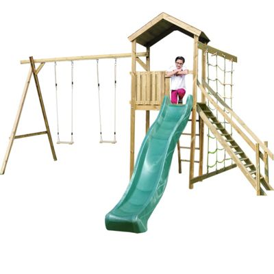 Buy Action Monmouth Wooden Climbing Frame with Swings, Slide and ...