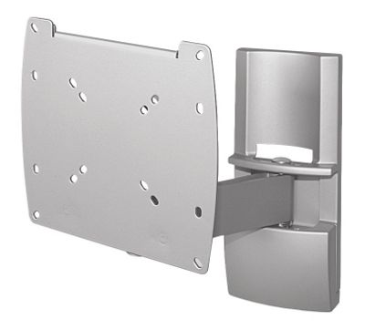 Techlink Single Arm with Tilt LCD Wall Mount - Silver