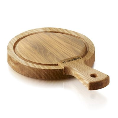 Boska Friends Small Round Oak Wood Wooden Cheese Board 320102
