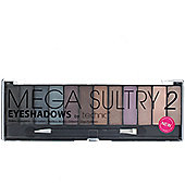 Technic Mega Sultry 2 - 12 Colour Eyeshadow Eye Shadow Palette Makeup Kit Set