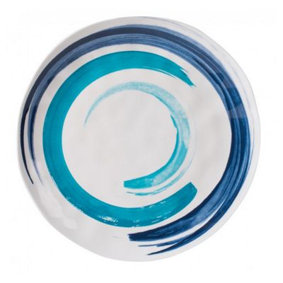 Summerhouse Coast Ceramic Style Melamine Plate