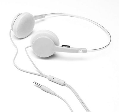 Urbanears Tanto Headphones in Line Microphone White NEW