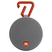 JBL Clip 2 Waterproof Ultra-Portable Bluetooth Speaker - Grey