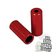 Madd Gear Red Alloy Scooter Stunt Pegs