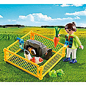 Playmobil Special Plus Girl and Guinea Pigs