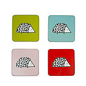 Scion Spike Set of 4, Coasters