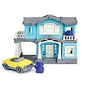 Green Toys House Playset with Accessories - Creative Play Set