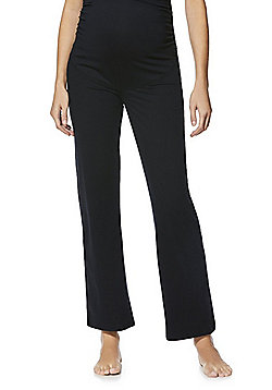 F&F Active Maternity Yoga Pants - Black