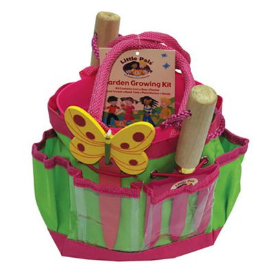 Little Pals Garden Growing Kit in Pink for 3 yrs+