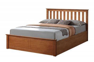 Buy Phoenix 120cm 4ft Small Double Oak Effect Wooden