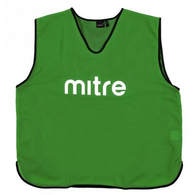 Mitre Pro Football Training Bib - Small - Green