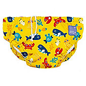 Bambino Mio Swim Nappy (Medium Deep Sea Yellow 7-9kg)