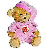 Teddy Hermann 28cm Teddy Bear In Pink Pyjamas Plush Toy