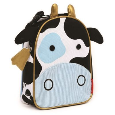Skip Hop Zoo Lunchies Cow Lunch Bag