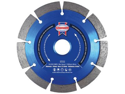 Faithfull Mortar Raking Diamond Blade 115mm x 22mm
