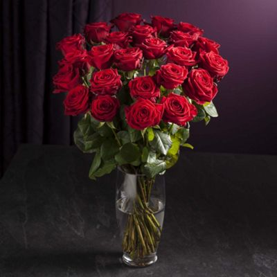 Buy Finest Opulence Red Rose Bouquet From Our All Flowers