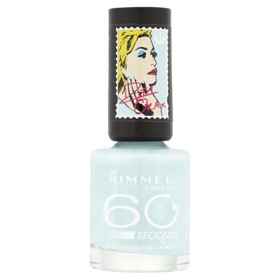 Rimmel 60 Seconds Rita Ora Nail Polish Fast In Bed