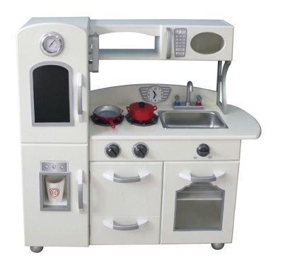 Teamson Kids White Play Kitchen (1 Piece)