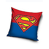 Superman Logo Filled Cushion