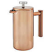 Double Walled Rose Gold Cafetiere 3 Cup