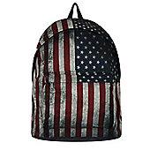 Vintage US Flag Backpack