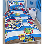 Jake and the Neverland Pirates Single Rotary Bedding - Doubloons