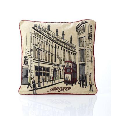 Alan Symonds Tapestry Regent Street Cushion Cover - 45x45cm