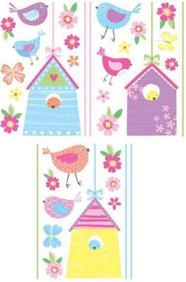 Bird House Decals