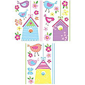 Bird House Decals