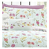 Appletree Rycott Floral Bird Boudoir Cushion 28x38cm