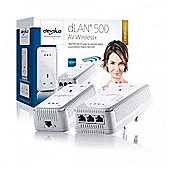 Devolo 1833 dLAN 500 AV Wireless+ Dual-Band Pass Through (Starter Kit)