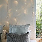 2m x 1m Indoor Warm White LED Curtain Light