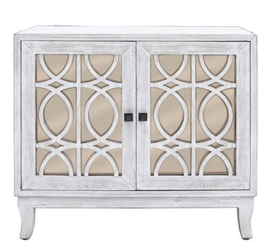 Aspen Washed Ash And Champagne 2 Door Sideboard