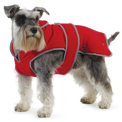 Ancol Poppy Red Stormguard Dog Coat - Extra Small