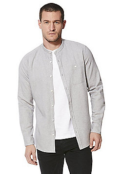 F&F Grandad Shirt and T-Shirt Set - Grey & White