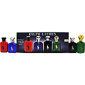Ralph Lauren Miniature Gift Set 15ml Polo EDT + 15ml Polo Blue EDT + 15ml Polo Black EDT + 15ml Polo Red For Men