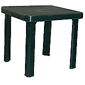 Resol Sun Lounger Side Table In Green / Garden Table Polypropylene Plastic x1