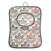 Country Club Peg Bag, Grey Floral