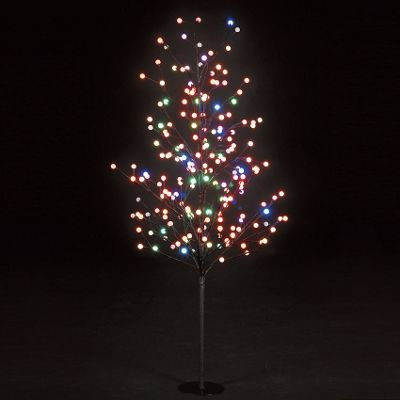 150cm/5ft Globe Tree with 200 Multi-Colour LEDs