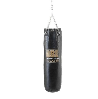 BBE Leather Club Punch bag With Chain