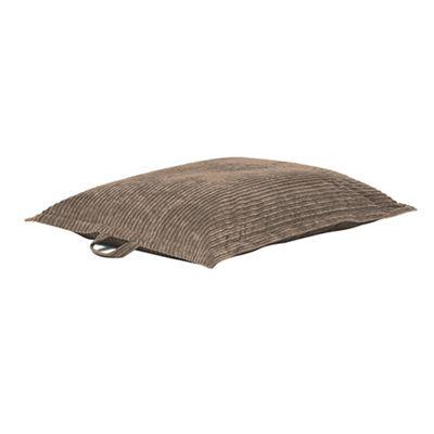 Mocha 'The Whale' Jumbo Cord Extra Large Bean Bag Slab