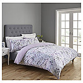 Fox & Ivy Floral Bloom  Duvet Set - Pink