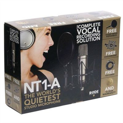 Rode NT1APACK Studio Condenser Microphone Package