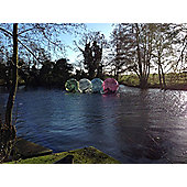 2 for 1 Winter Water Zorbing at Pump It Up Events: Saturdays