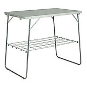Vango Galley Lightweight Table with Carry Bag Silver