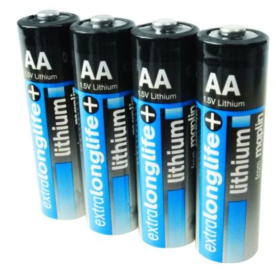 Maplin Extra Long Life 1.5V Lithium AA Battery 4 Pack