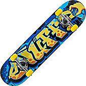 Enuff Graffiti II Yellow 7.5inch Mini Complete Skateboard