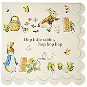 Peter Rabbit Napkins - 3ply Paper